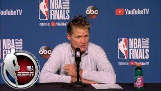 Steve Kerr: LeBron James and Michael Jordan are