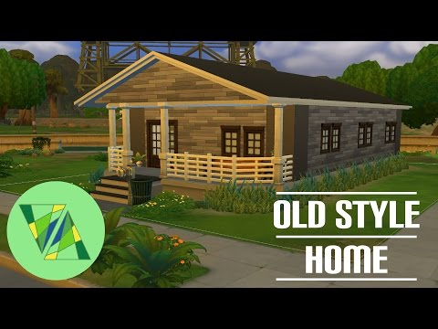 OLD STYLE HOME HOUSE BUILD | The Sims 4