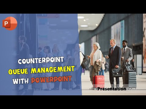 CounterPoint Queue Management with PowerPoint