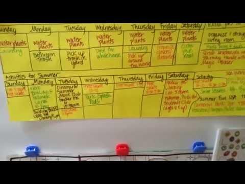 Kids Weekly Chore Chart