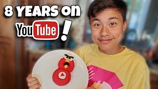 8 YEARS ON YOUTUBE!!! Donut Bake Off: Return of Angry Birds!