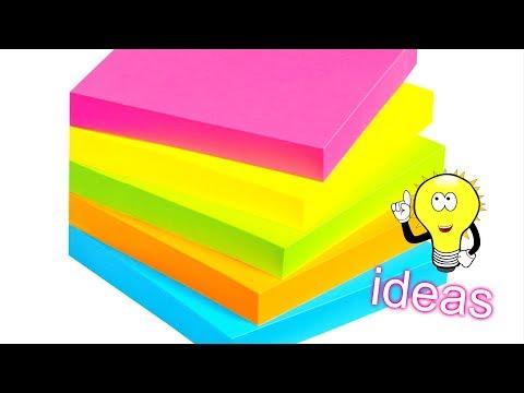 DIY Craft Ideas With Colored Paper | EMMA DIY #82