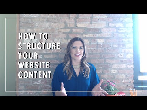 How to Structure Website Content
