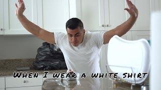 When I wear a white shirt | David Lopez