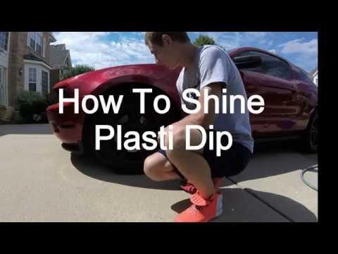 How To Make Plasti Dip Glossy
