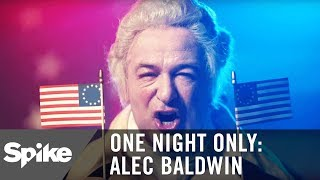 a presidential message from george washington alec baldwin one night only alec baldwin