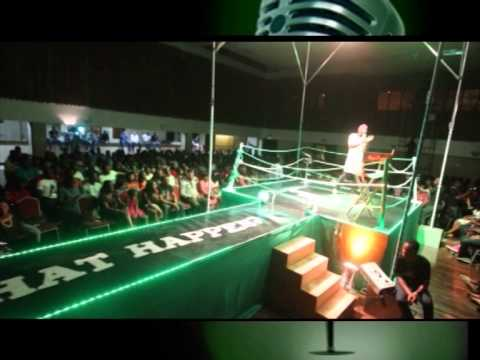 BASH THRILLS AUDIENCE LIVE AT STAND UP NIGERIA ON BOXING DAY