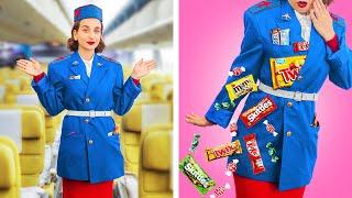 13 Ways to Sneak Food onto the Plane!