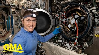 NASA plans record-setting stay for female astronaut l GMA