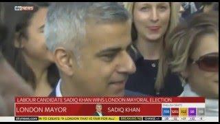 Sadiq Khan Has Won The London Mayoral Election Defeating Conservative Candidate Zac Goldsmith