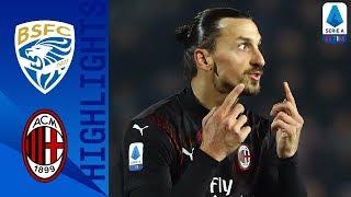 Brescia 0-1 Milan | Rebic's Goal Gives Milan the Win! | Serie A TIM