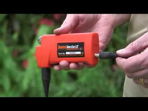 Gen Ear LE Water Leak Locator - How to Find a Water Leak in Water Line