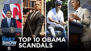 Top 10 Obama Scandals   The Daily Show