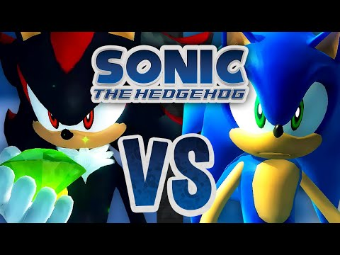 Sonic the Hedgehog 2006 - Multiplayer: Tag - White Acropolis (2 Player)