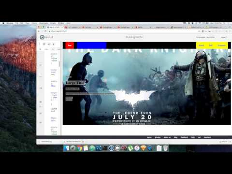 Learn HTML5 and CSS3 By Building Netflix Tutorial - #5  background images