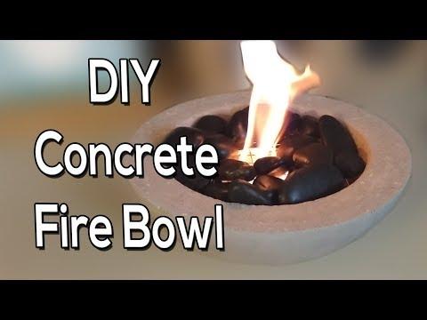 Concrete Fire Bowl (DIY)