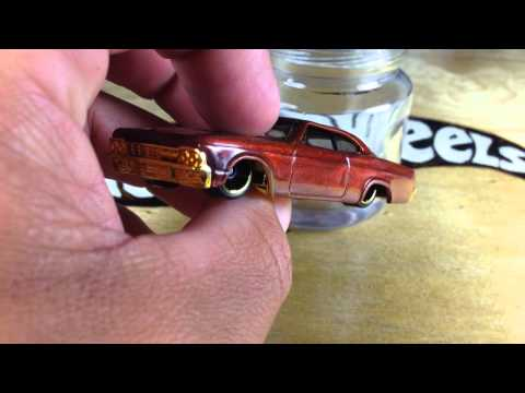 Hot Wheels Customizing 101: How To Remove Tampos