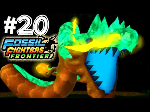 Fossil Fighters: Frontier Nintendo 3DS DRAGON BALL Z! Walkthrough/Gameplay Part 20 English!