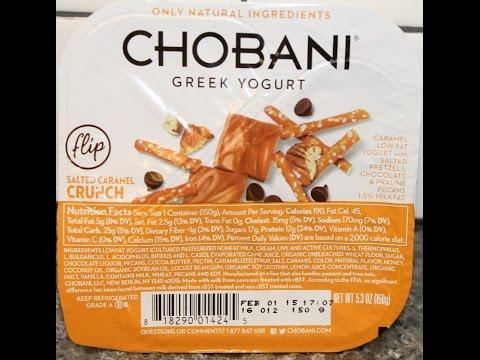 Chobani Flip: Salted Caramel Crunch Review