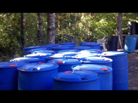 Plastic Barrels for a Floating Dock—how many are needed?