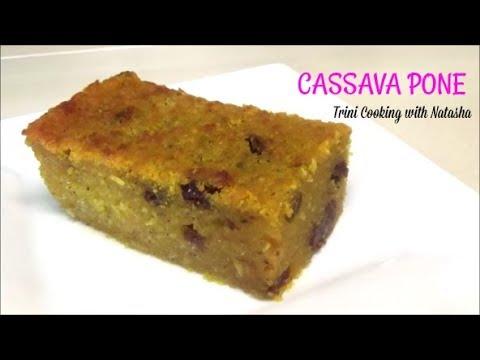 Trini Cassava Pone- Yuca Cake - Episode 498