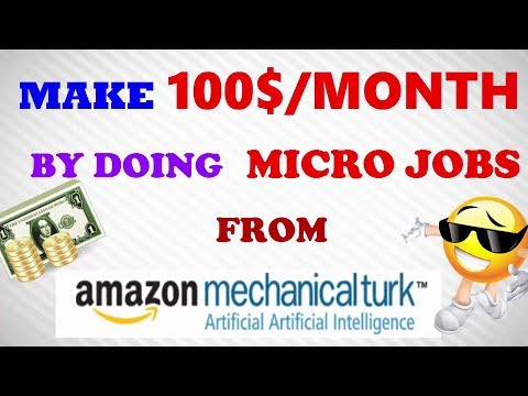 How to make money from amazon mechanical turk [Micro jobs]