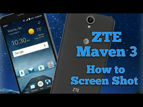 ZTE Maven 3 How to Take a ScreenShot