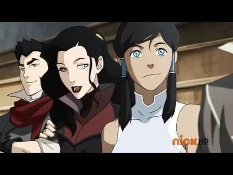 Korra Discovers Her Sexuality