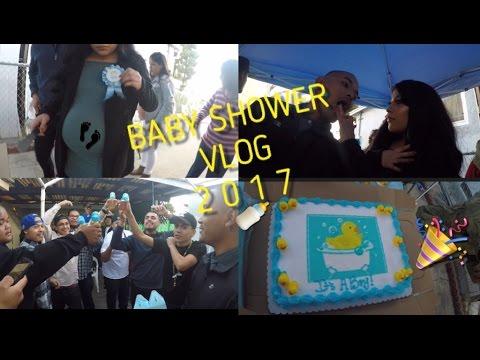 VLOG: Baby Shower Day