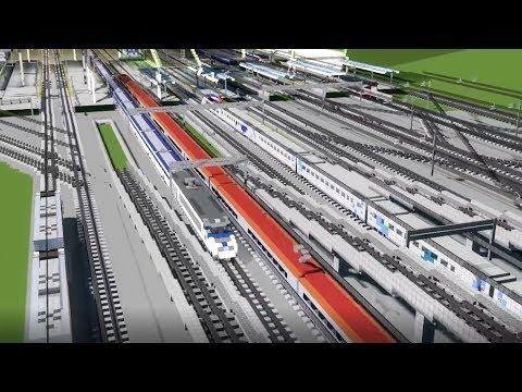 CraftyFoxe Minecraft Train Animations Mix