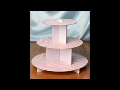 Cardboard Cupcake Stand