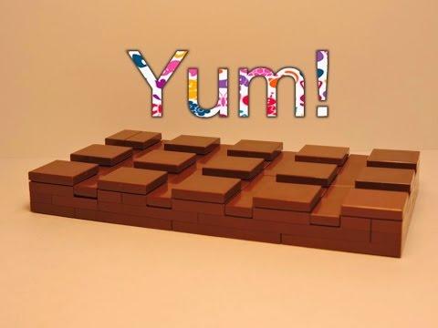 LEGO CHOCOLATE BAR! :D