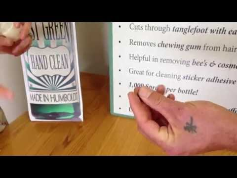 How To Remove Sticky Residue From Hands