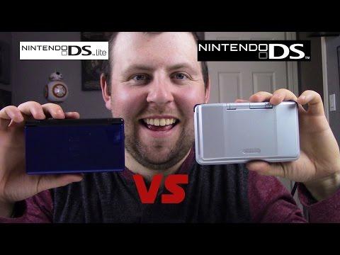 Original DS vs DS Lite