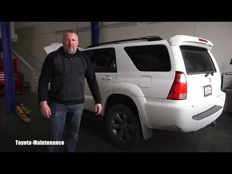 How to replace cabin air filter on Toyota 4Runner