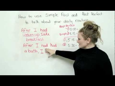 Past Simple and Past Perfect - Tenses in English