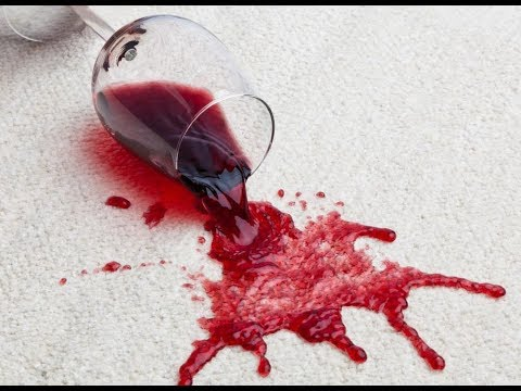 How to clean red wine stain from FibreGuard fabrics