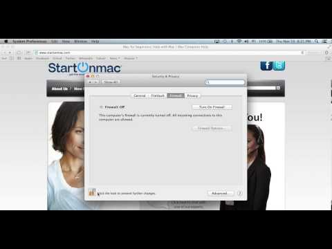 Mac Guide on Keeping your Mac safe with the built-in firewall