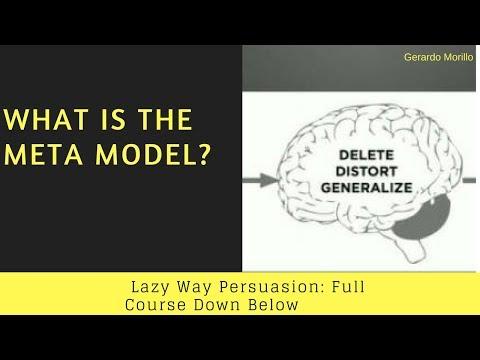 What Is The Meta Model | Gerardo Morillo