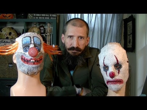 How to make a creepy burlap Clown mask for your Halloween Clown costume