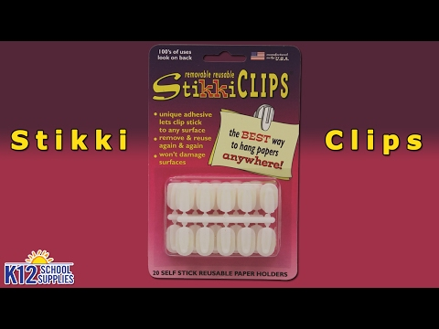 Best Stikkiclips - Sticky Clips - Teacher Supplies
