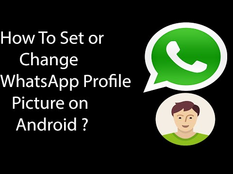 How To Set Profile Picture On WhatsApp On Android -2016 ?