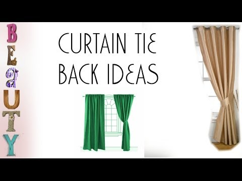Curtain Tie Back Ideas