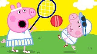 Peppa Pig Official Channel 🎾 Peppa Pig Plays Tennis 🎾Peppa Pig