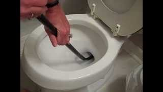 How To Unclog A Toilet Auger A Toilet Easily