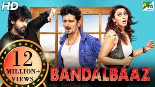 BANDALBAAZ | Pokkiri Raja | Full Comedy Hindi Dubbed Movie | Jiiva, Sibiraj, Hansika Motwani
