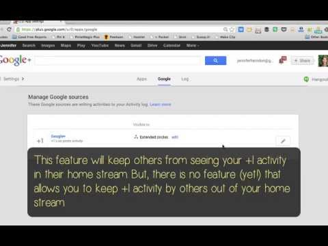 Google+: How to Keep Your +1 Activity Private