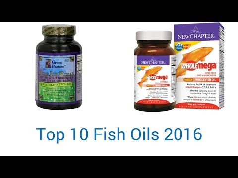 10 Best Fish Oils 2016