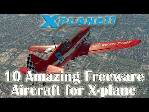 X-plane 11] 10 Amazing Freeware Aircraft for X-plane (Part 3)