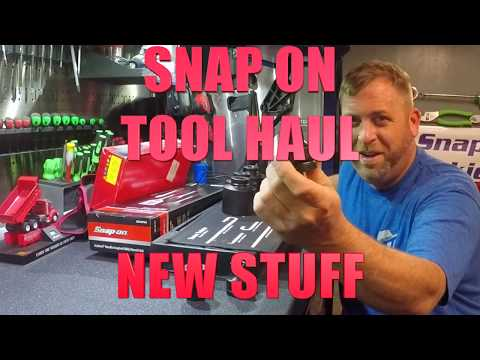 NEW SNAP ON TOOLS FIRST TOOL HAUL 2018